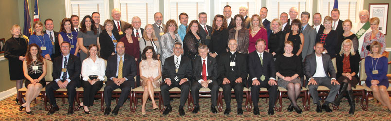 Legatus' newly chartered Lansing Chapter