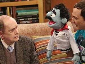 Bob Newhart plays Arthur Jeries/Professor Proton on CBS sitcom The Big Bang Theory (CBS Photo)