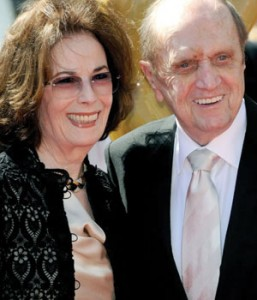 Bob and Ginnie Newhart at the 2013 Primetime Emmy Awards on Sept. 15