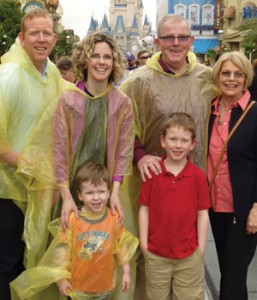 Legates Bob & Andrea Chisholm their family at Disney World