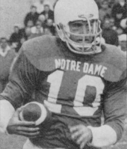 Patrick McCaskey played football while studying at Notre Dame College Prep in Niles, Ill.
