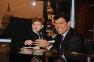 Paul joined his dad on the set of Special Report a few years ago