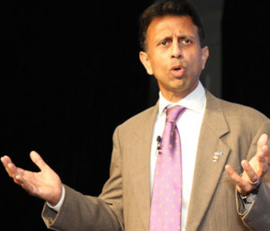 Gov. Bobby Jindal speaks on Jan. 29.