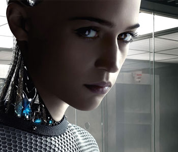 """Actress Alicia Vikander starred as a robot named Ava in 2015's """"Ex Machina"""" (Universal Pictures photo)"""