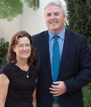 Paul O'Reilly and his wife Margaret are members of Legatus' Santa Barbara Chapter